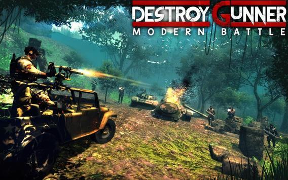 Gunner Modern Battle Destroyer poster