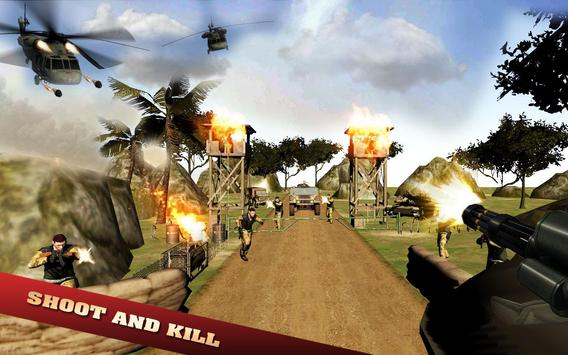 Gunner Combat Jungle Battle screenshot 1