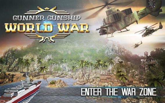 Gunner Gunship World War poster