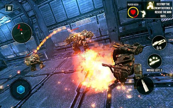 Mech Shooter Transform Hero 3D poster