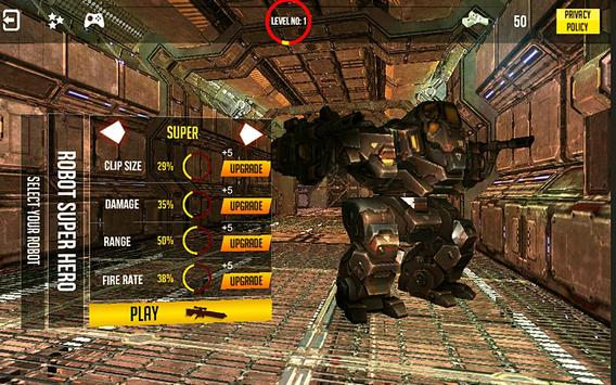 Mech Shooter Transform Hero 3D apk screenshot
