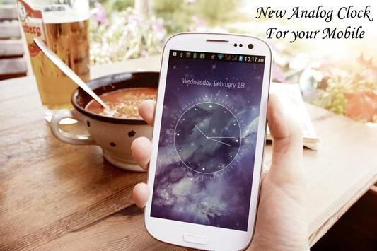 Galaxy X HD Analog Clock LWP screenshot 3