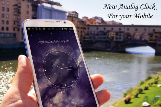 Galaxy X HD Analog Clock LWP screenshot 2