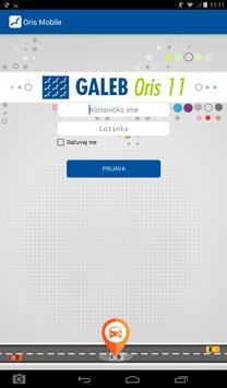 Galeb Oris 11 poster