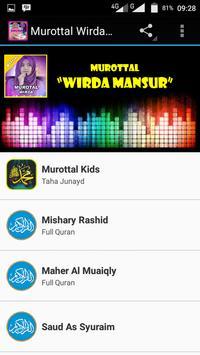 Murottal Wirda Mansyur New Mp3 apk screenshot