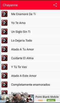 Chayanne Me Enamore Musica apk screenshot