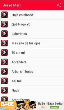 Dread Mar I Letras Musica screenshot 1