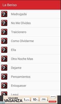 La Beriso Top Letras Musica screenshot 1