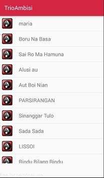 Trio Ambisi Pop Batak apk screenshot
