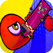 angrey red ball 2018 battle icon