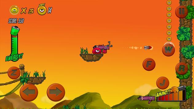 angrey red ball 2018 battle screenshot 1