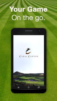 Coral Canyon Golf Course poster