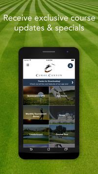 Coral Canyon Golf Course apk screenshot