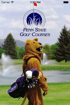 Penn State Golf Courses poster