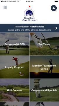 Penn State Golf Courses apk screenshot