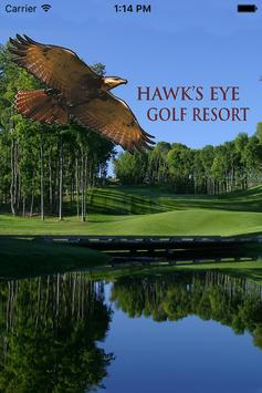 Hawk's Eye Golf Resort poster