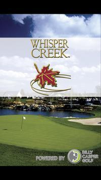 Whisper Creek Golf Club poster