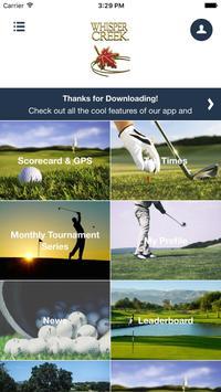 Whisper Creek Golf Club screenshot 1
