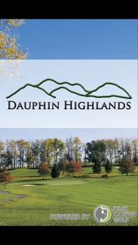 Dauphin Highlands Golf Course poster
