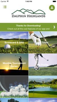 Dauphin Highlands Golf Course screenshot 1