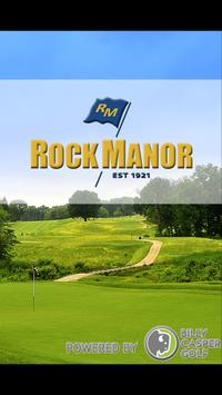 Rock Manor Golf Club poster