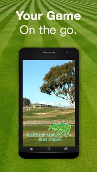 Growling Frog Golf Course poster