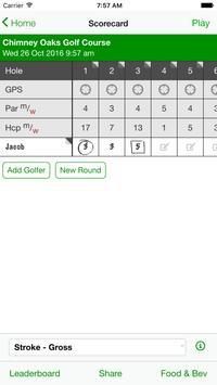 Chimney Oaks Golf Club apk screenshot