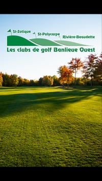 Golf Banlieue Ouest poster