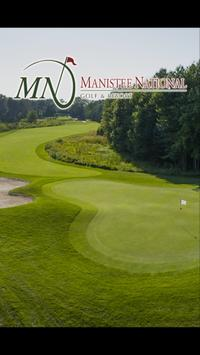 Manistee National Golf poster