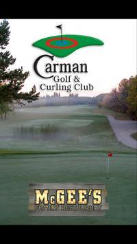 Carman Golf & Curling Club poster