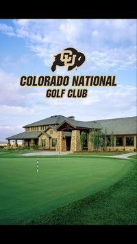 Colorado National GC poster