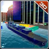 Navy Ship Parking Simulator icon