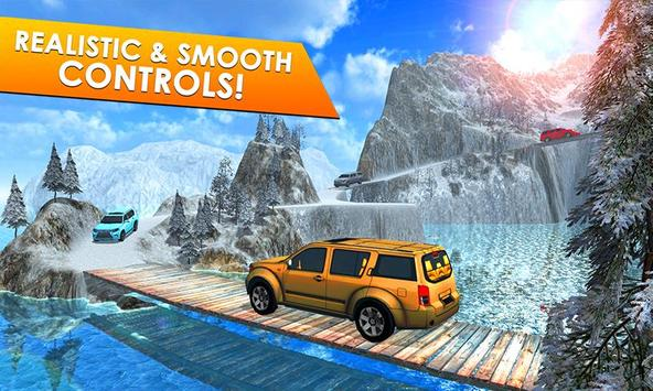 Offroad Escalade Driving Rush poster
