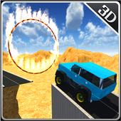 Offroad 4X4 Mountain Jeep Sim icon