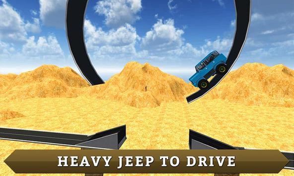 Offroad 4X4 Mountain Jeep Sim poster