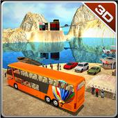 Offroad Public Transport Bus icon