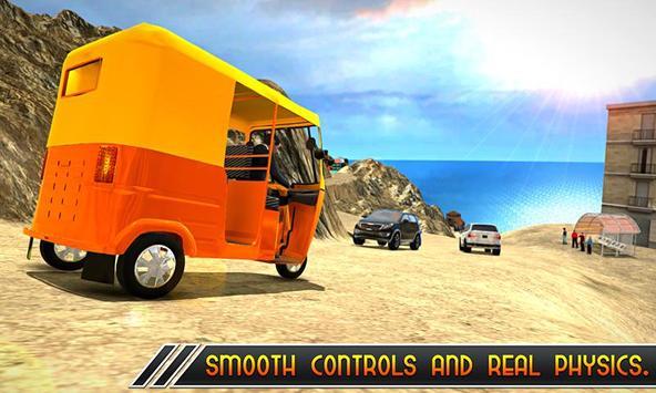 Offroad Tuk Tuk Uphill Driver screenshot 3