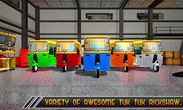 Offroad Tuk Tuk Uphill Driver screenshot 2