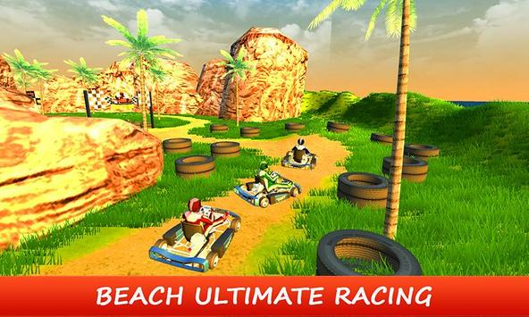 Beach Kart - Stunt Buggy Rider screenshot 4
