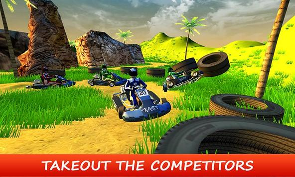 Beach Kart - Stunt Buggy Rider screenshot 3