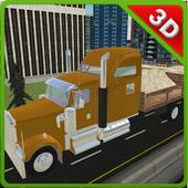 City Construction Transporter icon