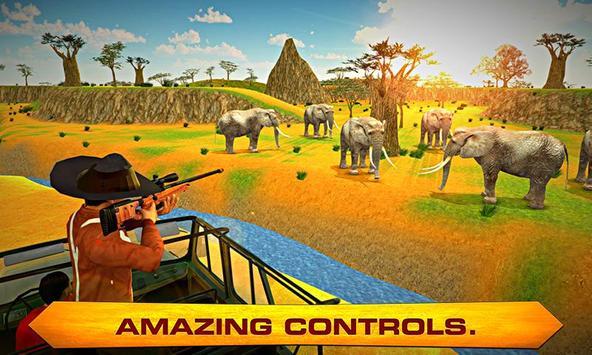 Elephant Hunter – Angry hunt poster