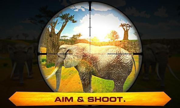 Elephant Hunter – Angry hunt apk screenshot