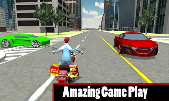 Fast Food Motorcycle Delivery apk screenshot