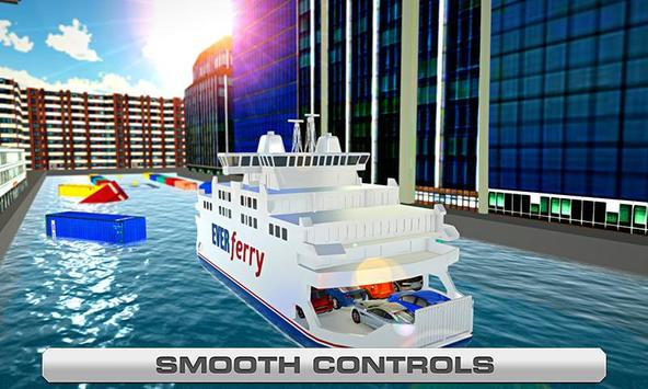 Ferry Parking - Boat Simulator poster