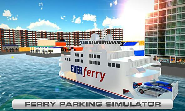 Ferry Parking - Boat Simulator apk screenshot