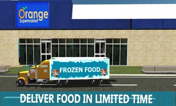 Frozen Food Truck Simulator poster