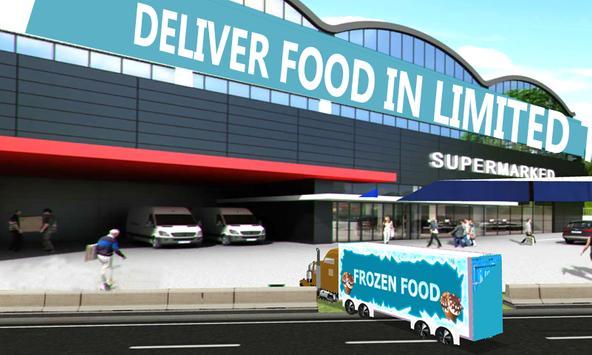 Frozen Food Truck Simulator apk screenshot