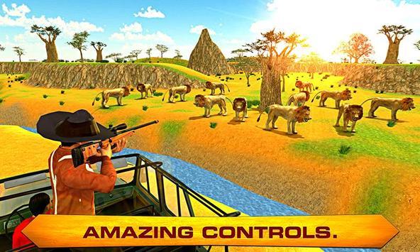 Lion Hunter – Jungle Hunt Sim poster