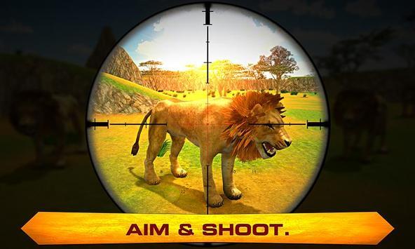 Lion Hunter – Jungle Hunt Sim apk screenshot